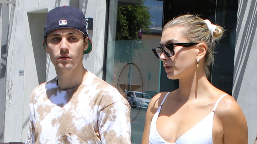 Justin und Hailey Bieber 2019 in West Hollywood