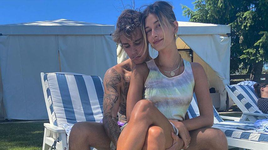 Justin und Hailey Bieber im Juli 2020