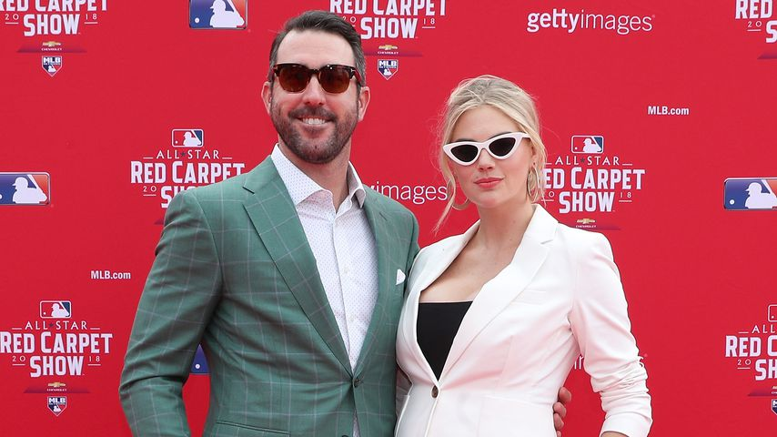 Justin Verlander und Kate Upton bei einem Baseball All-Star Game