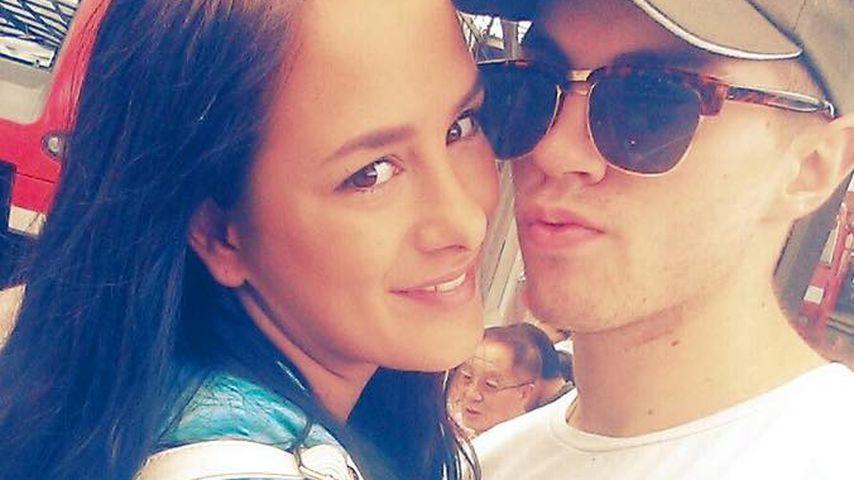 TV-Star Joe Heindle mit seiner Freundin Justine Dippl