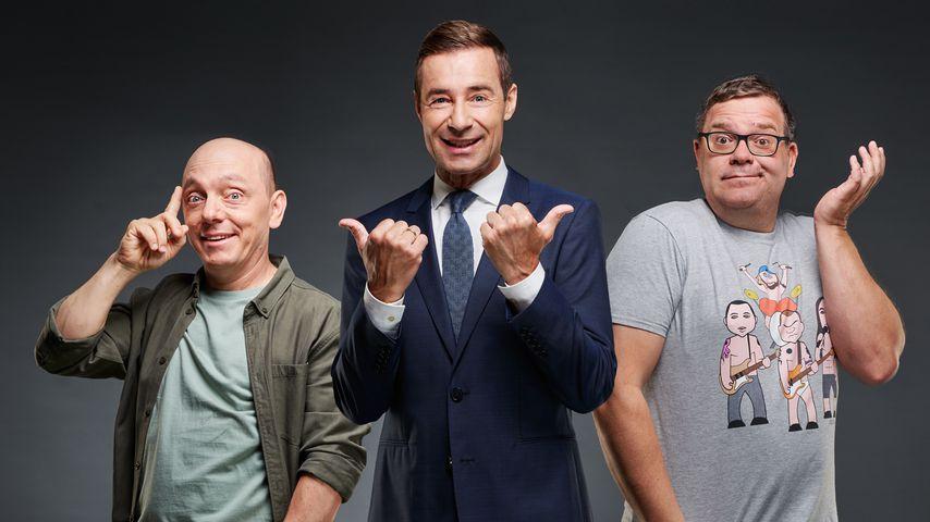 """Bernhard Hoëcker, Kai Pflaume und Elton bei """"Wer weiß denn sowas?"""""""