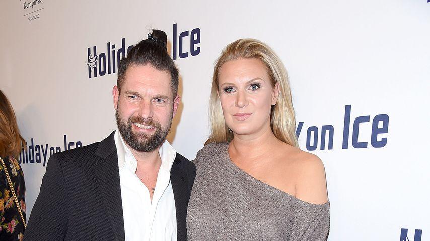"""Kai Schwarz und Magdalena Brzeska bei der """"Holiday on Ice""""-Gala"""