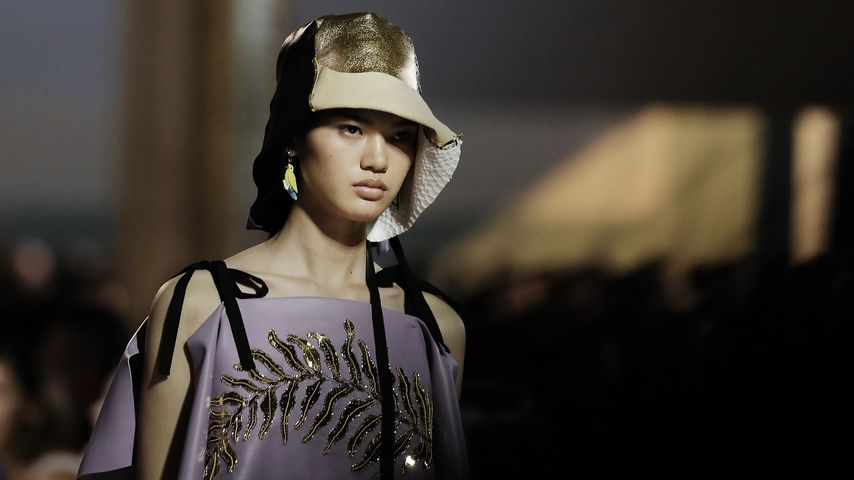 Kaia Gerber auf der Mailand Fashion Week im September 2019