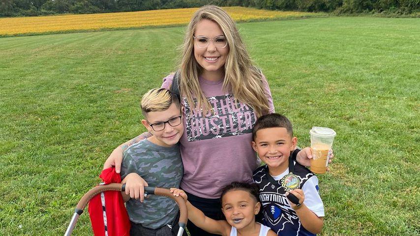 Kailyn Lowry mit ihren Kindern, Oktober 2020