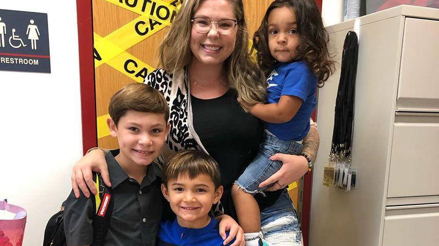 Kailyn Lowry mit ihren Kindern, September 2019