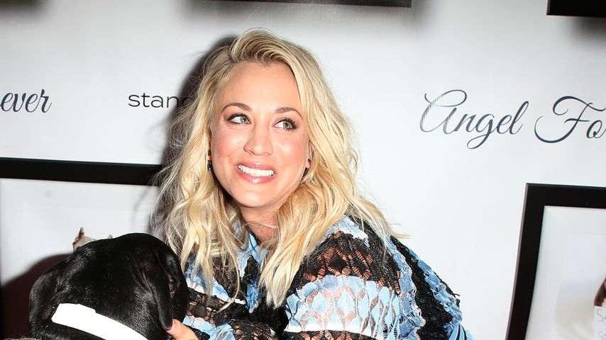 """Kaley Cuoco bei der Veranstaltung """"Stand Up For Pits"""""""