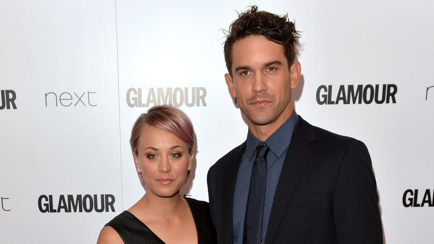 Kaley Cuoco und Ryan Sweeting bei den Glamour Women Of The Year Awards