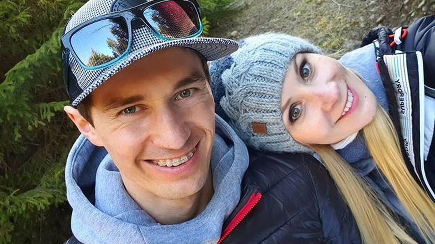 Kamil und Ewa Stoch, April 2020