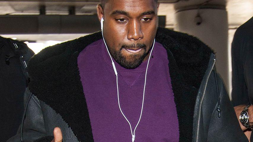 Kanye West am Flughafen von Los Angeles
