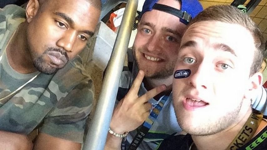 Kanye West: Das traurigste Super-Bowl-Selfie ever!