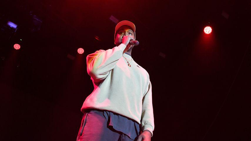 Kanye West bei einem Auftritt im Februar 2018