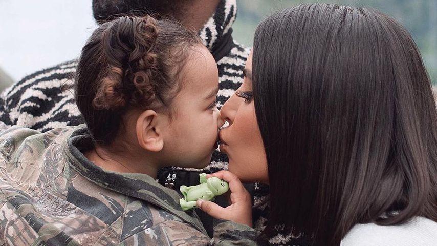 Kanye West, Chicago West und Kim Kardashian im Dezember 2019