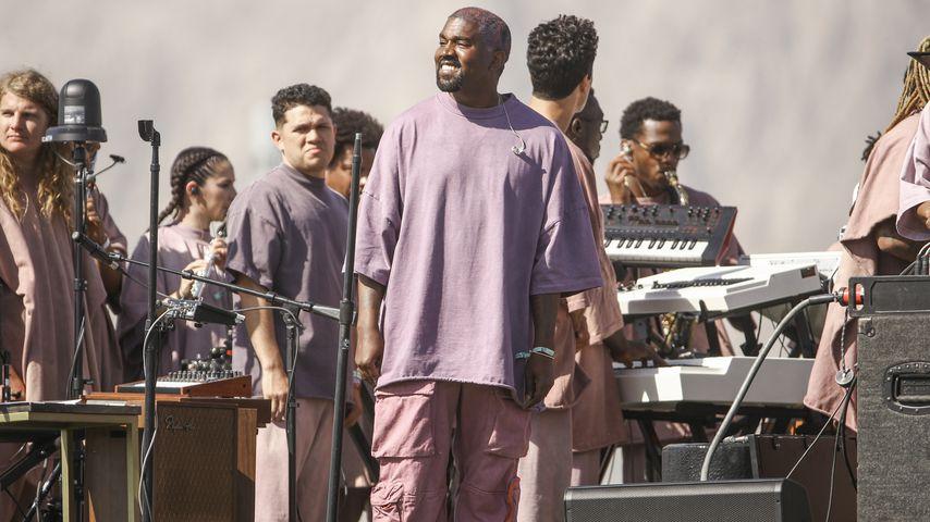 Kanye West auf dem Coachella-Festival 2019
