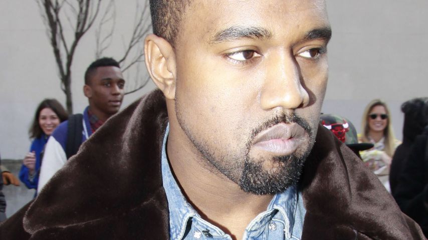 Teppich bügeln, bitte! Kanye West hat irre Wünsche