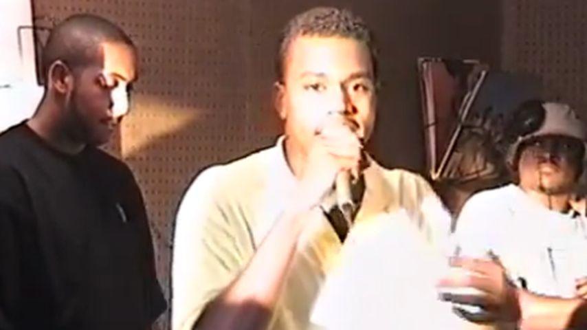 Schon damals lässig: Kanye West als Teenie-Rapper