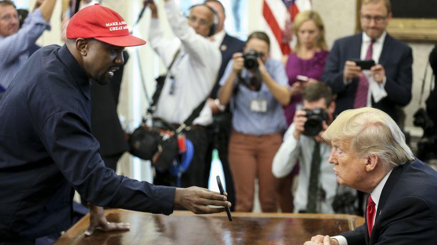 Kanye West und Donald Trump im Oktober 2018 in Washington