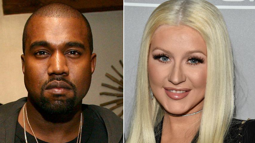 Kanye produziert ihr Album: Wie steht Xtina zu Skandalen?