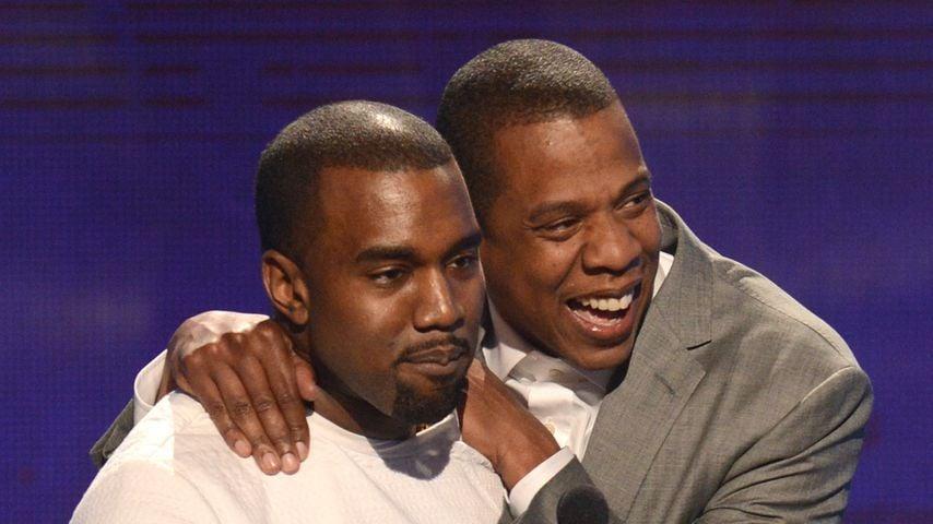 Kanye West und Jay-Z bei den BET Awards 2012