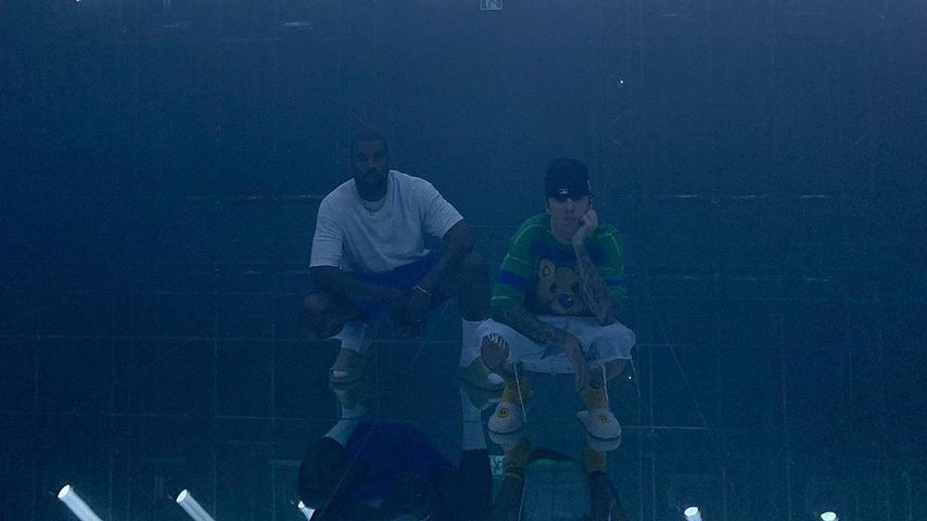 Kanye West und Justin Bieber