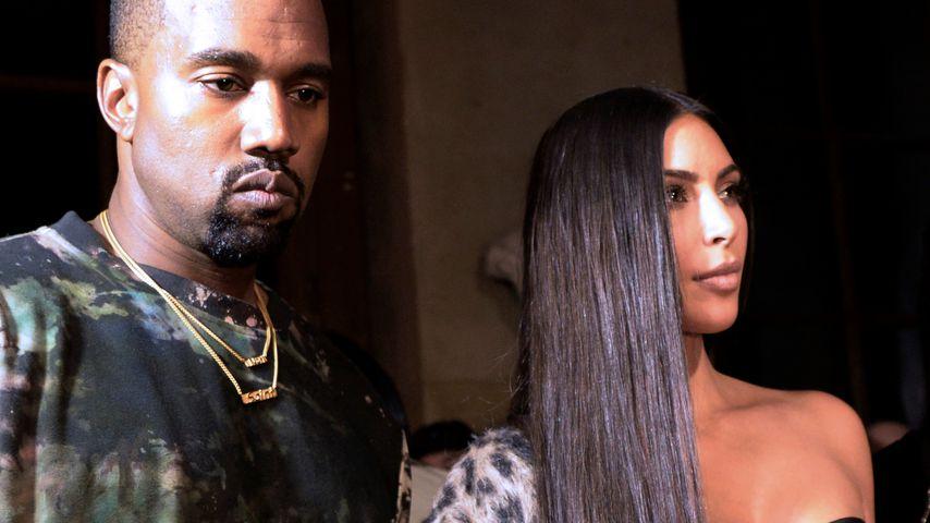 """Liebeskrise? Kim K beschimpft Ehemann Kanye als """"Arschloch""""!"""