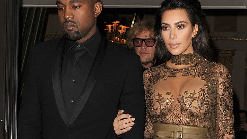 Nach Zusammenbruch: Kim K. weicht nicht von Kanyes Seite!