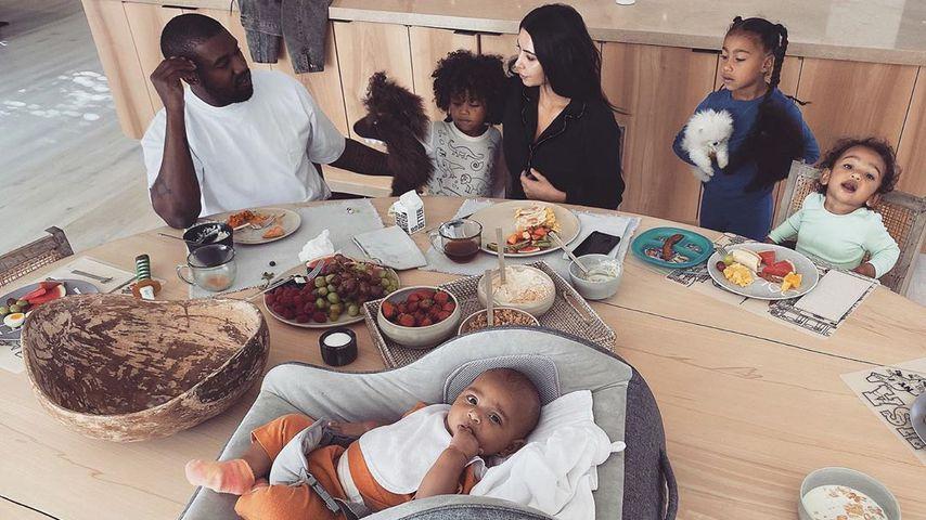 Healthy Lifestyle? Kim Kardashians Kids essen vegetarisch