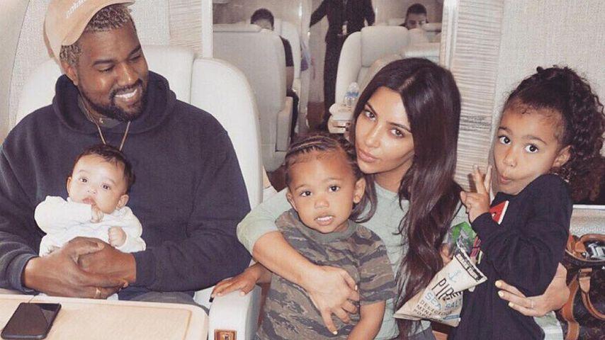Nach Trennung: Kim Kardashian macht sich Sorgen um ihre Kids