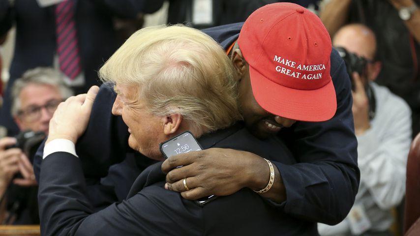 Kanye West mit Donald Trump