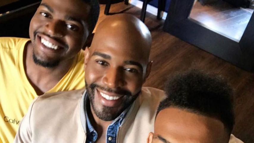 Karamo Brown mit seinen beiden Söhnen Jason und Chris