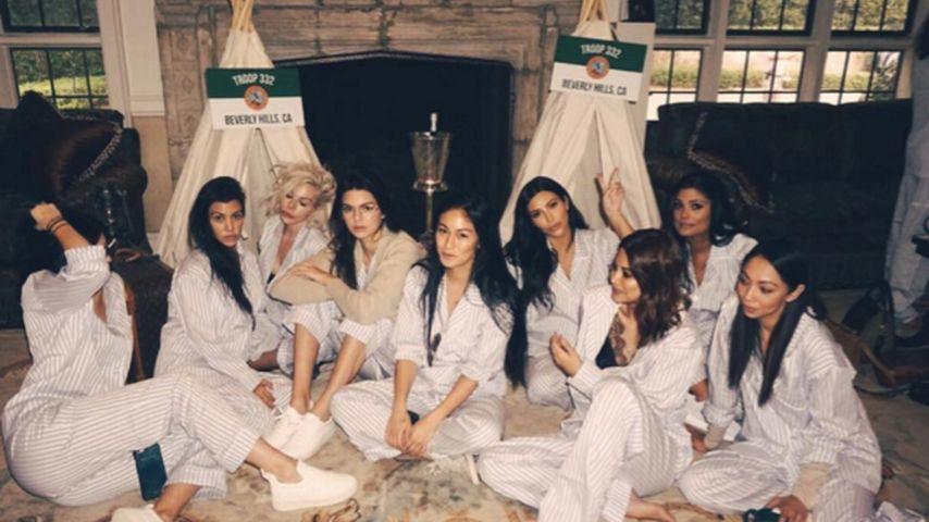 Kim Kardashian, Kendall Jenner und Kourtney Kardashian