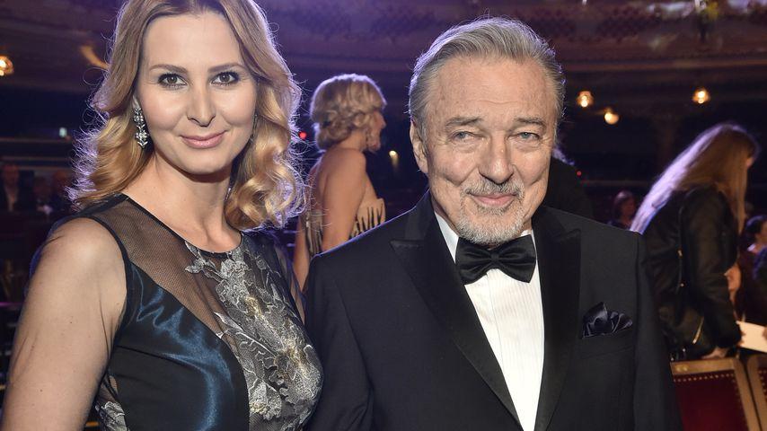 Karel Gott und seine Ehefrau Ivana beim tschechischen Musikpreis Český slavík