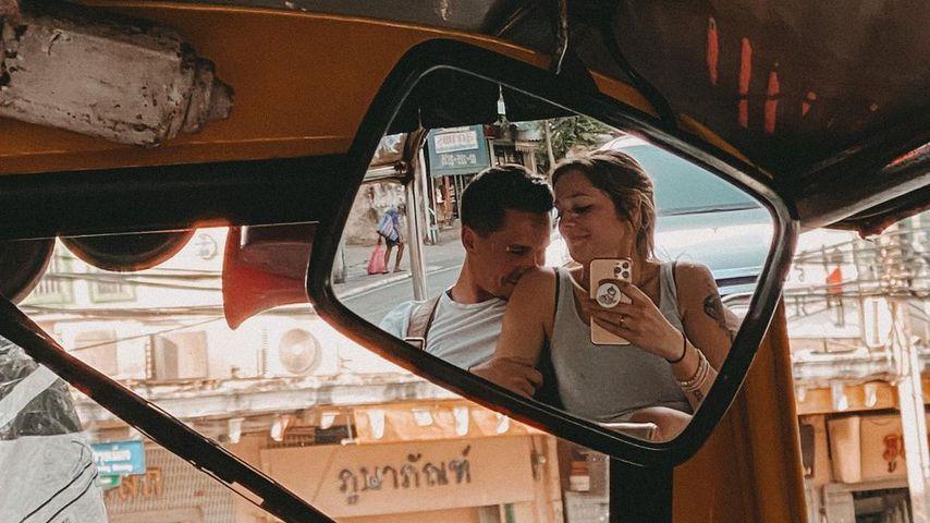 Karim und Anne Wünsche im Thailand-Urlaub
