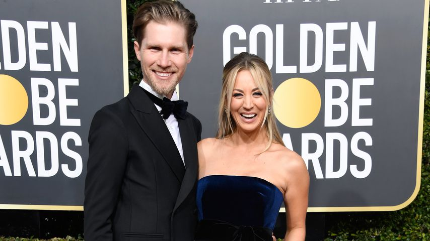 Karl Cook und Kaley Cuoco bei den Golden Globe Awards im Januar 2019 in Beverly Hills