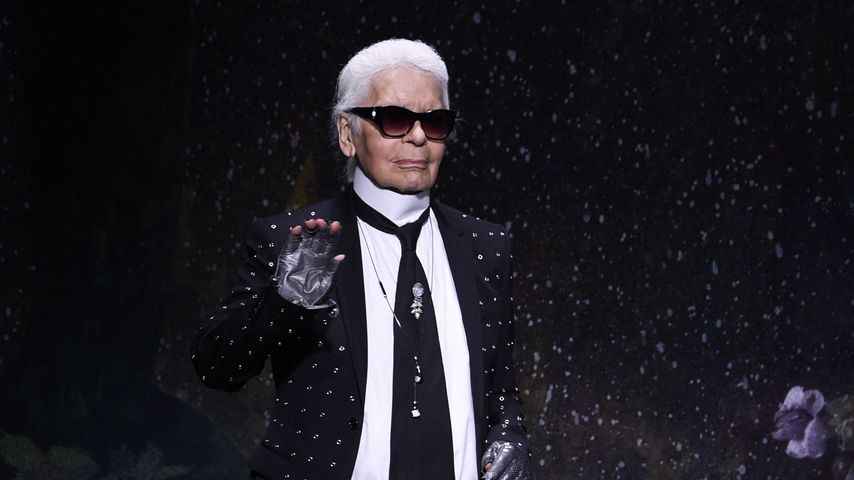 Milan Fashion Week: Stylisher Tribut an Karl Lagerfeld