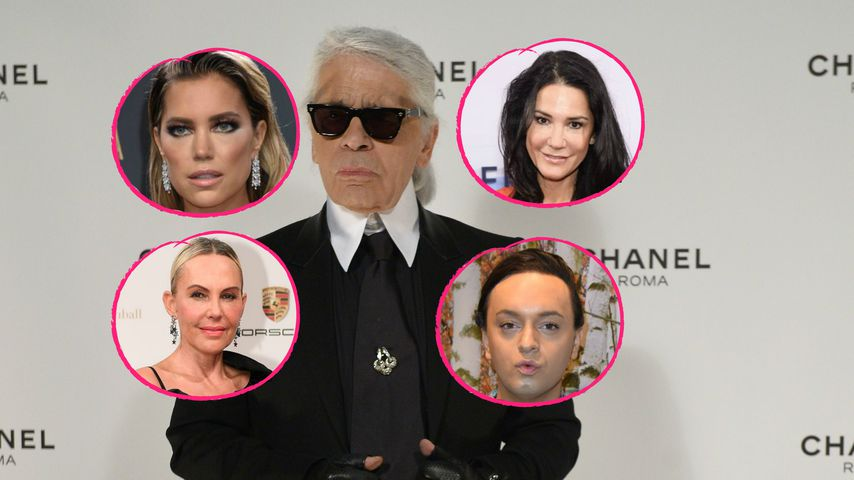 """""""Schockiert"""": Deutsche Stars trauern um Modezar Lagerfeld!"""