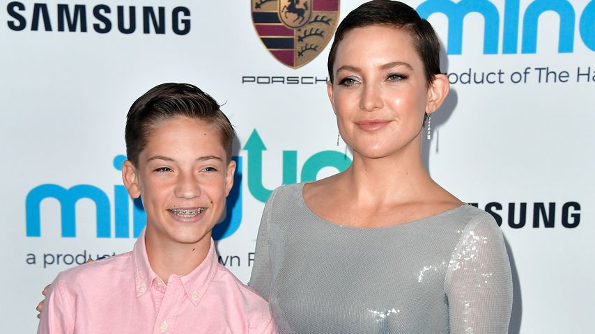 Kate Hudson (r.) mit ihrem Sohn Ryder Robinson in Beverly Hills