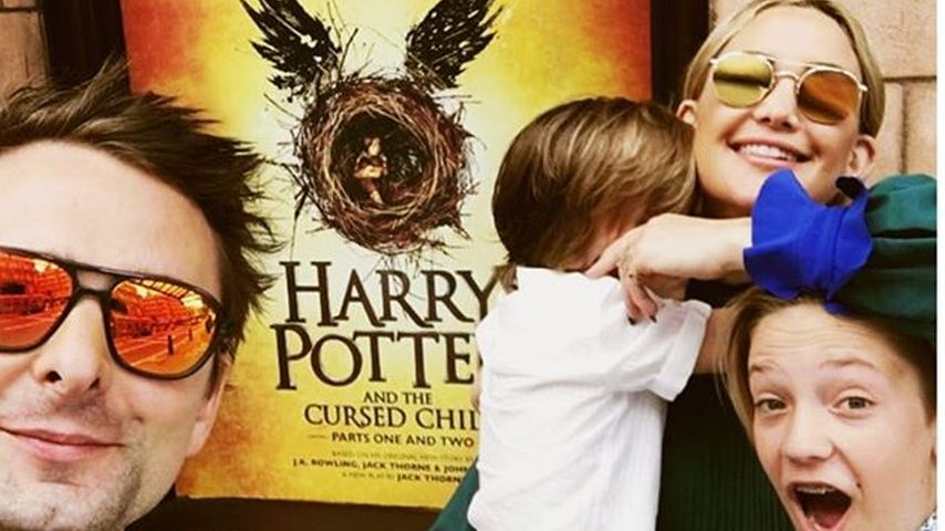 Kate Hudson mit ihrem Ex-Freund Matthew Bellamy & ihren Söhnen Bingham Bellamy sowie Ryder Robinson