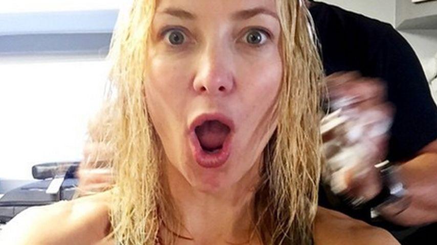 Schockiert! Kate Hudson bekommt einen Longbob verpasst