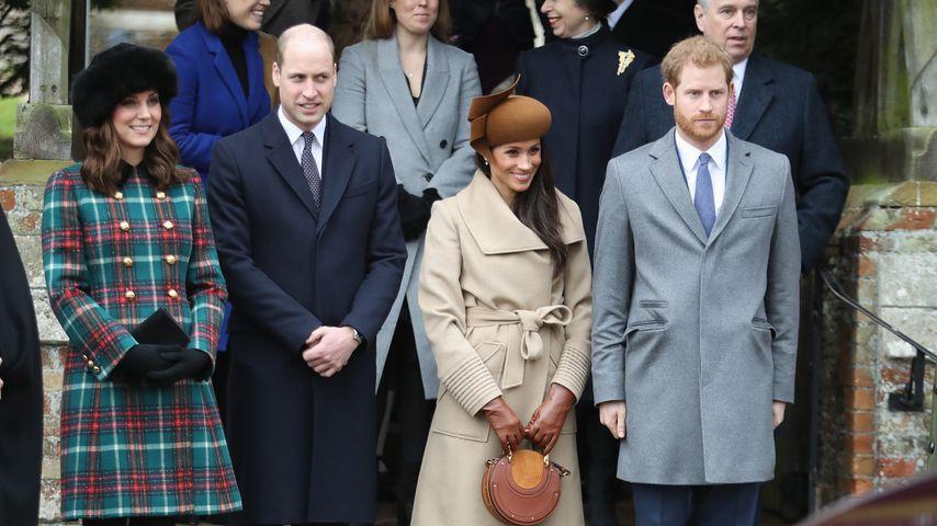 Meghan Markle begeistert beim ersten öffentlichen Auftritt mit den Royals