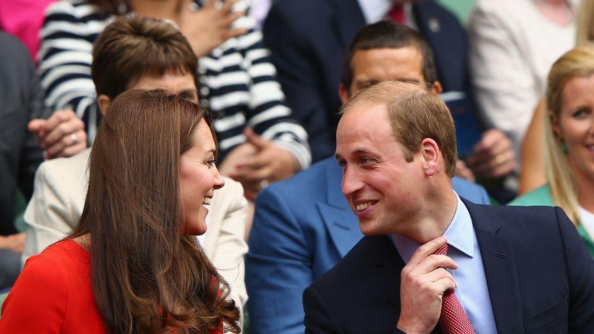 1. Auftritt ohne Charlotte: Kate & William ganz verliebt