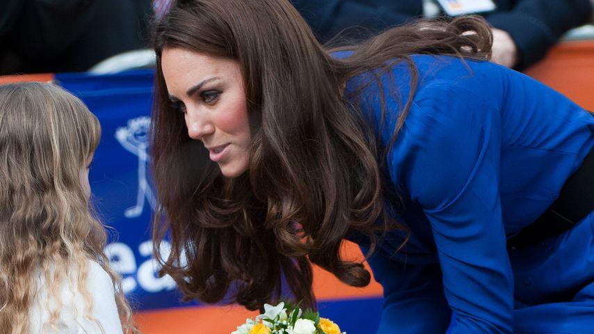 Herzogin Kate bei einem offiziellen Termin