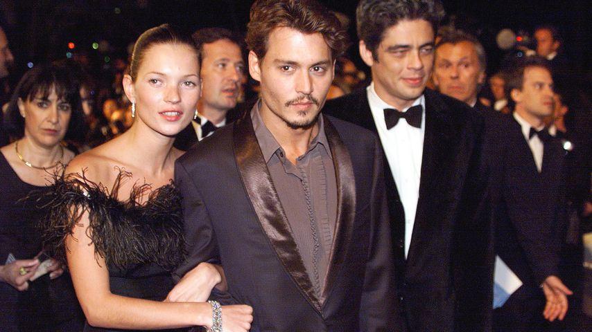 Kate Moss und Johnny Depp, 1998
