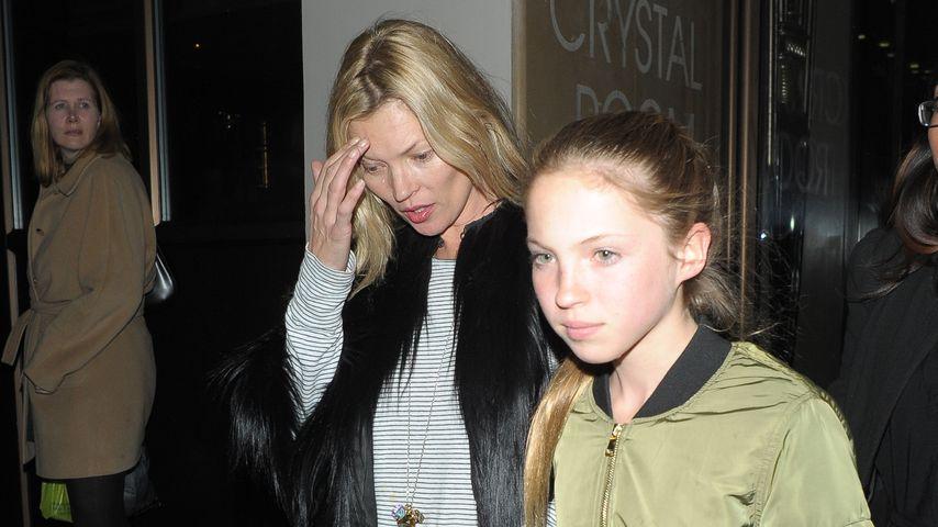 Kate Moss und ihre Tochter Lila Grace
