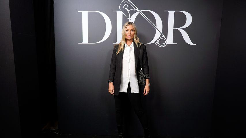 Kate Moss im Januar 2020 in Paris
