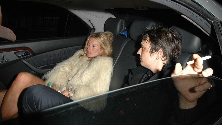 Verbrannte Kate Moss nach Trennung Pete Dohertys Spielzeug?