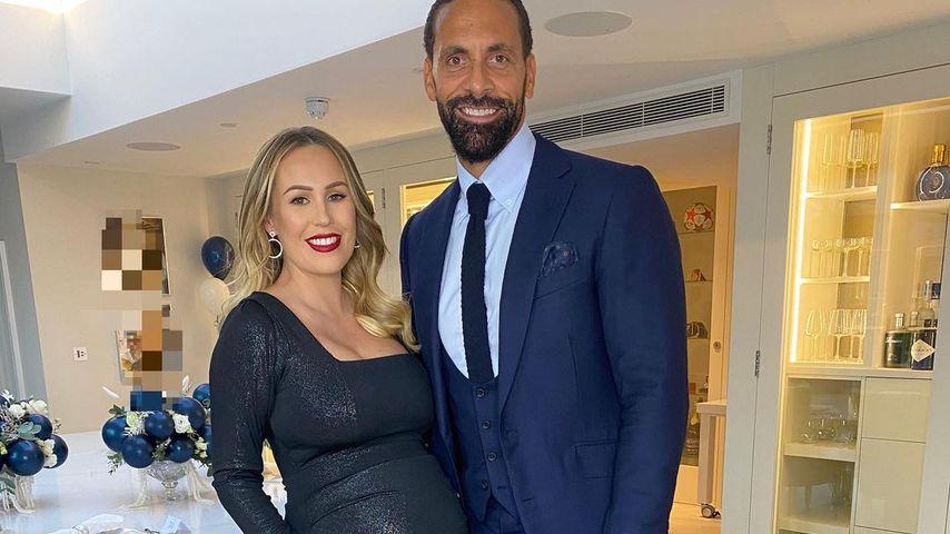 Kate und Rio Ferdinand im November 2020