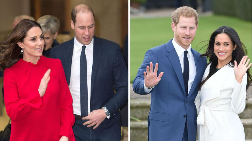 Werden Kate & William nicht die Paten von Harrys Baby?