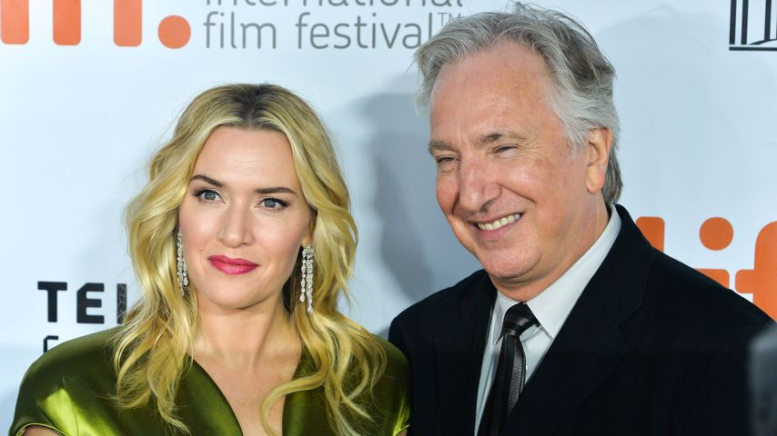 Schon bald 1 Jahr: Kate Winslet ehrt Freund Alan Rickman (†)
