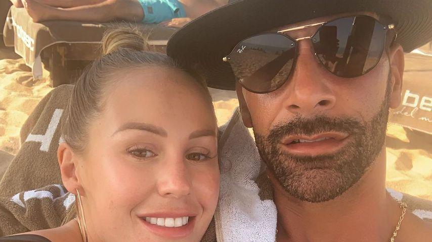 Kate Wright und Rio Ferdinand im August 2019