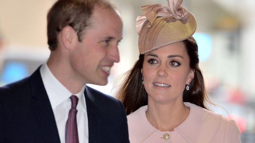 Für Baby Nummer Zwei: William & Kate erhöhen Security